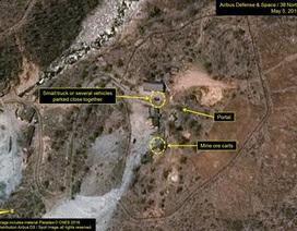 """Ảnh vệ tinh """"tố"""" Triều Tiên sắp thử hạt nhân"""