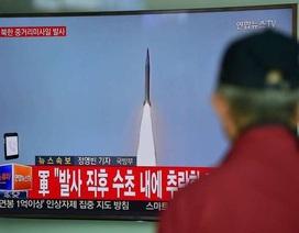 Tên lửa tầm trung của Triều Tiên nổ tung ngay trên bệ phóng