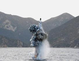 Tên lửa phóng từ tàu ngầm Triều Tiên rơi vào vùng nhận dạng phòng không của Nhật Bản