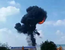 Máy bay ném bom Trung Quốc nghi bị rơi ở Quảng Tây