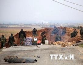 Quân đội Syria tiêu diệt 125 phiến quân tại tỉnh Hama