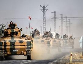 Người Kurd đốt cháy xe tăng Thổ Nhĩ Kỳ