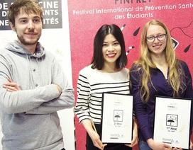 Hoa khôi Việt thành phố Nice đạt giải Nhì cuộc thi phim ngắn tại Pháp