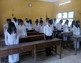 Xúc động: Lớp học ở đảo Phú Quốc tưởng niệm ngày 17/2