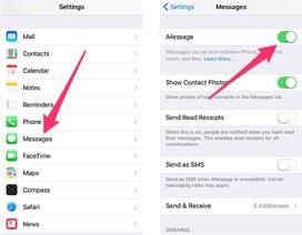 Cách khắc phục lỗi kích hoạt iMessage trên iPhone