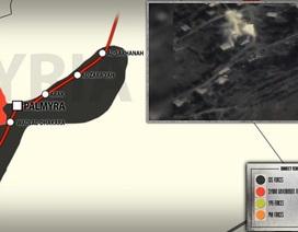 Tuyến vận tải dầu mỏ của IS ở Homs hoàn toàn tê liệt