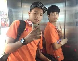 Cầu thủ U23 Việt Nam chúc mừng năm mới từ Qatar