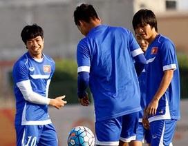Cầu thủ U23 Việt Nam háo hức trước trận đánh lớn với Jordan