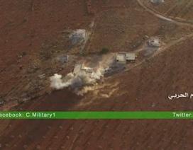 UAV Hezbollah ném bom phiến quân ở Aleppo