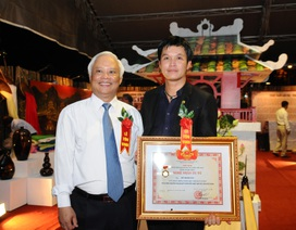 Việt Nam có nghệ nhân ưu tú trong lĩnh vực kim hoàn
