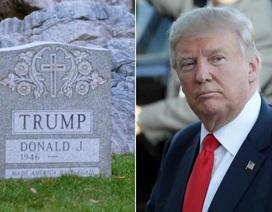 """""""Giải mã"""" bí ẩn bia mộ Donald Trump ở công viên New York"""