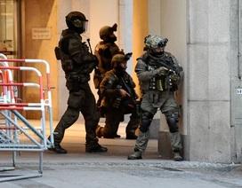 Hiện trường vụ xả súng tại thành phố Munich