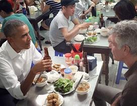 """""""Ông Obama dùng hai suất bún chả, hai chai bia Hà Nội"""""""