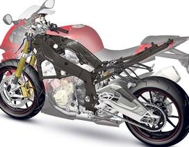 BMW làm khung xe mô-tô bằng vật liệu sợi carbon