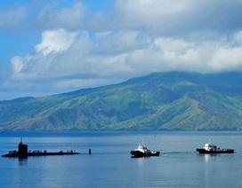 Tàu ngầm tấn công tiên tiến Charlotte của Mỹ cập cảng Philippines