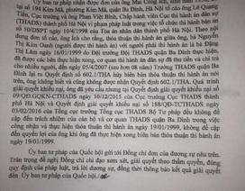 Tố cáo Cục trưởng Cục thi hành án TP Hà Nội, công dân đợi câu trả lời đúng luật