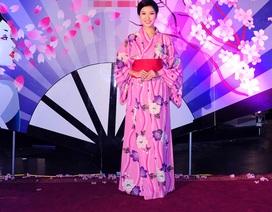 Thúy Vân hóa cô gái Nhật Bản