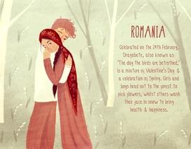 Thế giới kỷ niệm lễ Valentine's truyền thống như thế nào