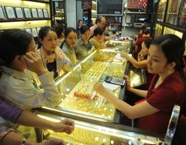 Giá vàng biến động, chênh lệch 1 triệu đồng/lượng