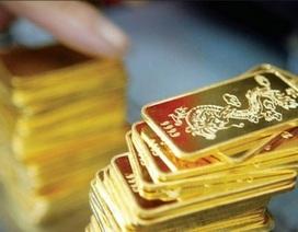 Giá vàng sụt giảm gần nửa triệu đồng/lượng trong tuần