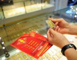 Giá vàng tăng mạnh, tỷ giá trung tâm giảm tới 17 đồng