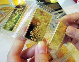 Giá vàng giảm thấp nhất nửa tháng, tỷ giá trung tâm tăng vọt