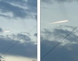 Vệt sáng bí ẩn vụt qua bầu trời Nhật Bản ngay sau động đất mạnh