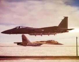 Song đấu F-15 và Su-27