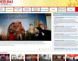Ra mắt trang báo Thời Đại điện tử phiên bản tiếng Nga