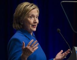 Bà Clinton: Tôi muốn thu mình sau thất bại trước ông Trump