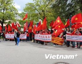 Biểu tình ở Munich phản đối hành động của Trung Quốc ở Biển Đông