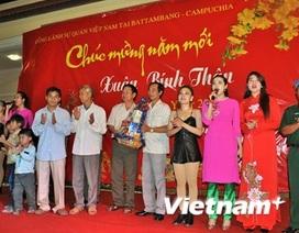 Bà con Việt kiều tại Siem Reap vui đón Tết cổ truyền Bính Thân