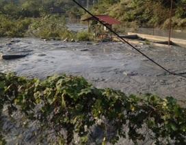 Vỡ bể chứa, hàng trăm nghìn m3 bùn thải chì, kẽm tràn ra môi trường