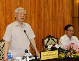 Tổng Bí thư Nguyễn Phú Trọng thăm và làm việc tại tỉnh Tây Ninh