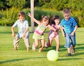 Cha mẹ năng động và tích cực, con khỏe mạnh hơn