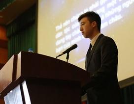 Nghiên cứu sinh tiến sĩ 9X về nước mở phòng họp Liên Hợp Quốc 2016