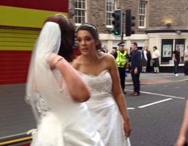Đám cưới hóa thảm họa do trần nhà rơi trúng đầu phù rể