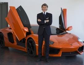 Lamborghini thay tướng