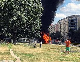 Xe tải nổ rung chuyển thủ đô của Đức