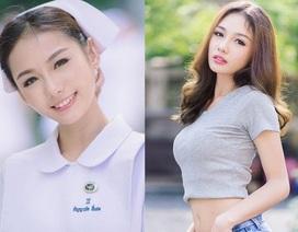 """Nữ y tá xinh đẹp nhất Thái Lan """"đốn tim"""" dân mạng"""