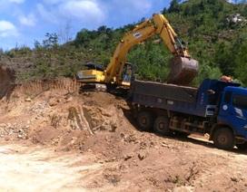 Vụ doanh nghiệp tự ý khai thác đất trái phép: Xử phạt hành chính 2 công ty!