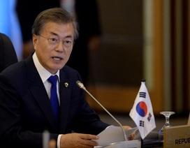 """Tổng thống Hàn Quốc kêu gọi Triều Tiên ngừng """"suy nghĩ hoang tưởng"""""""
