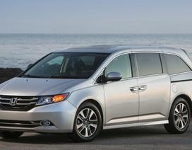 Honda triệu hồi, dừng bán xe Odyssey