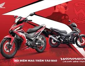 Honda nâng cấp Winner, giá không đổi, tặng thêm đồng hồ G-Shock