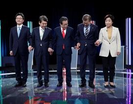 Hàn Quốc bầu tổng thống thay thế bà Park Geun-hye bị phế truất