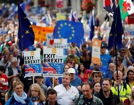 Tuần hành lớn phản đối Brexit tại thủ đô London của Anh
