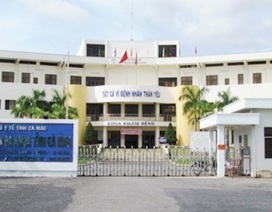 Vụ bệnh viện tỉnh Cà Mau nợ trăm tỉ: Giám đốc nghỉ ngay trước khi công bố