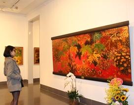 Tranh sơn mài của họa sĩ Nguyễn Đình Tuyên: Hiện đại trong truyền thống