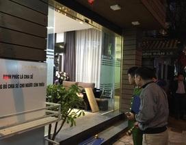 Hà Nội: Ba tiếng súng nổ liên tiếp trên phố Phan Bội Châu