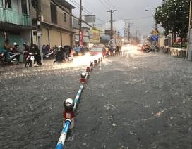 Hôm nay Sài Gòn tiếp tục mưa giông